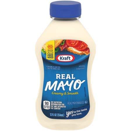 Kraft Real Mayonnaise 12 fl. oz. Bottle - 5 Pack by by Kraft