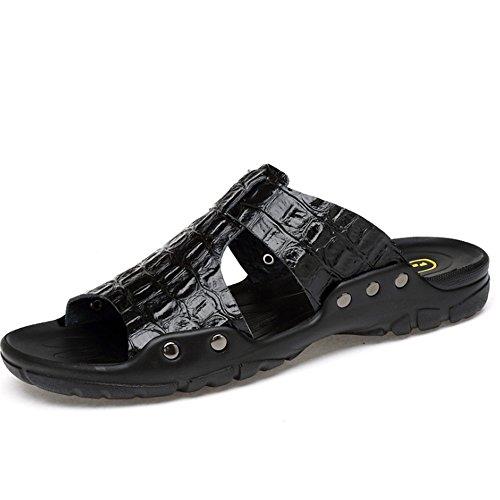 tamaño Pantuflas Wangcui EU Antideslizantes Los Color Zapatillas Playa Negro Deslizador del De Ocio Hombres 3 De 41 De Verano Respirables 1 Zapatillas De Azul 6qBUr64