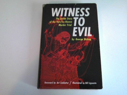 Book cover from Witness to Evil by George Bishop
