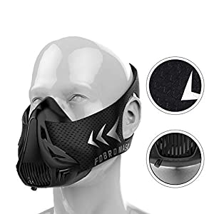 Training Mask 2.0 Fitness Mask | Workout Mask | Max Breathing Resistance Levels – Fitness Mask | Training in High…