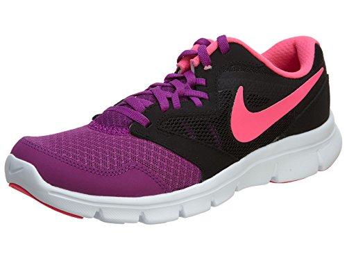 Zapatillas Para Correr Nike Flex Experience 3 Para Niñas (bj) Bold Berry / Black / White / Pink Pow