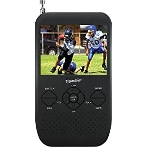 """Supersonic SC-335 3.5"""" Portable TFT LCD TV with FM Radio and SD Card Slot"""
