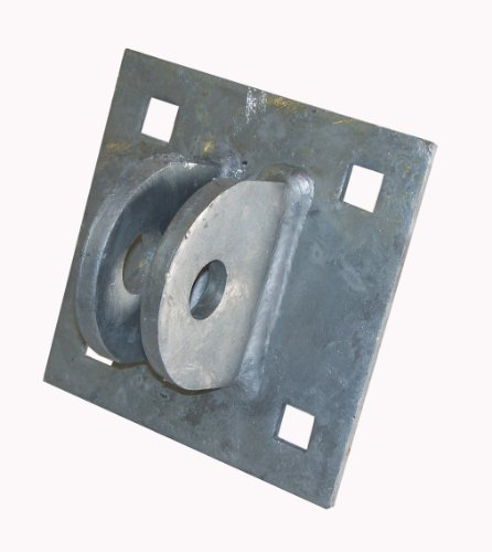 Dock Edge + Inc. Female 9/16-Inch Square Hole Heavy Duty Floating Dock T Connector from Dock Edge