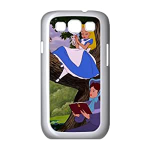 Samsung Galaxy S3 9300 Cell Phone Case Covers White Alice in Wonderland Character Alice cqbe