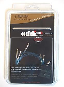 addi Click Turbo Replacement Cord Set with Connector; 1 ea. of Lengths 24'' (60 cm); 32'' (80m cm); 40'' (100 cm) by addi