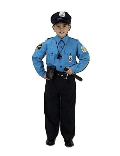 One Piece Cop Costumes - Aeromax Jr. Police Suit,