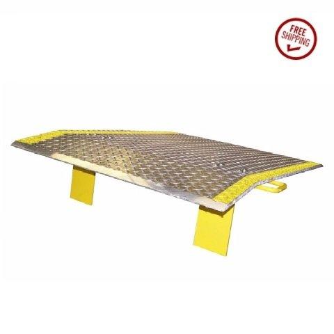 Aluminum ('E') Series Tread Dock Plate with Handles 60'' W x 36'' L 2928# Cap