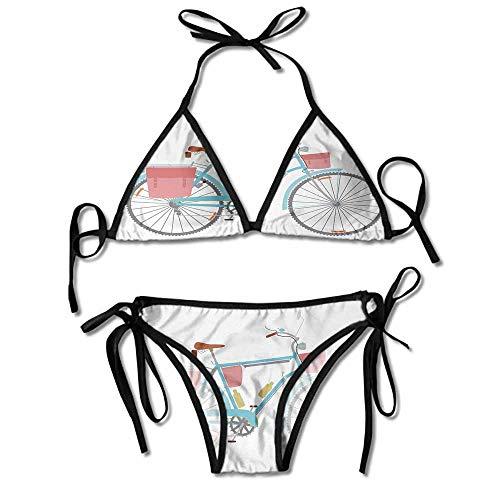 Custom Pattern Smoothies Basic Solid Fuller Coverage Bikini Bottom Swimsuit (Best Bikini Bottoms For Saddlebags)