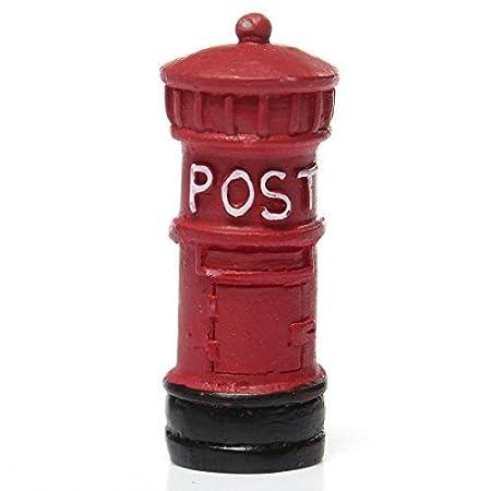 5cinque mini retro Postbox Craft ornamento decorazione (rosso), Blue 5Five