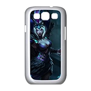 Samsung Galaxy S3 9300 Cell Phone Case White League of Legends Ravenborn LeBlanc SH3809977