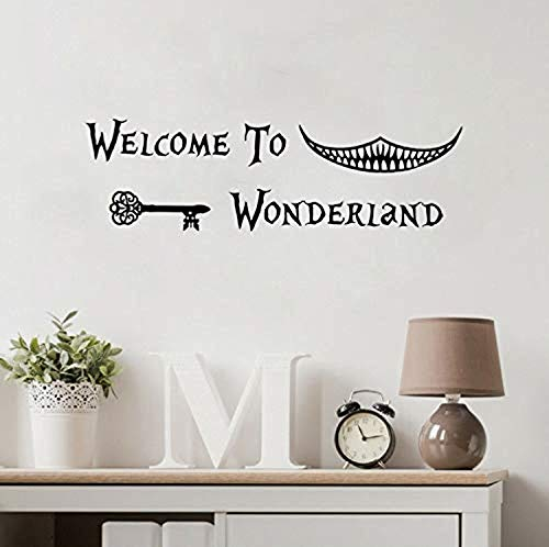 Profit Decal Kitchen Sticker,Alice in Wonderland Art Children's Room Decoration S Kindergarten Home Decoration Wall Decals Decor Vinyl Sticker Q13072 -