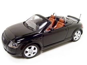 Amazoncom Audi Tt Black 118 Diecast Model Maisto Toys Games