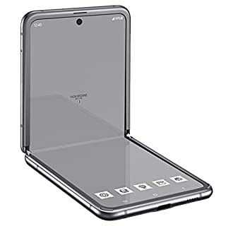 Samsung Galaxy Z Flip Thom Browne Edition SM-F700F/DS 256GB (GSM Only | No CDMA) Factory Unlocked Android 4G/LTE Smartphone (Grey) - International Version