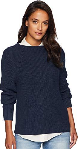 Pendleton Women's Emilie Pullover Sweater, Cosmic Blue, XS