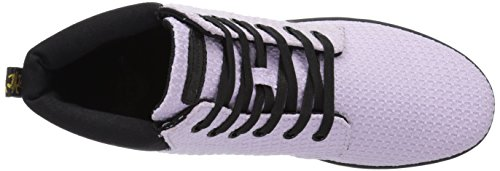black Waffle Pour Orchid Cotton Purple Femme Martens fine Baskets Mode Dr Canvas TqawF010