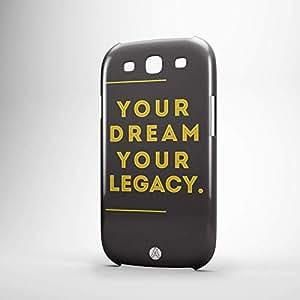Your dreams Samsung S3 3D wrap around Case - Typography