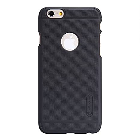f42c377bea4 Nillkin Super Frosted Shield Case for iPhone 6 4.7 Inch - Black  Amazon.in   Electronics