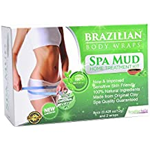 Body Wrap for Women Slimming Home Spa Treatment for Cellulite, Weight Loss, Stretch Marks
