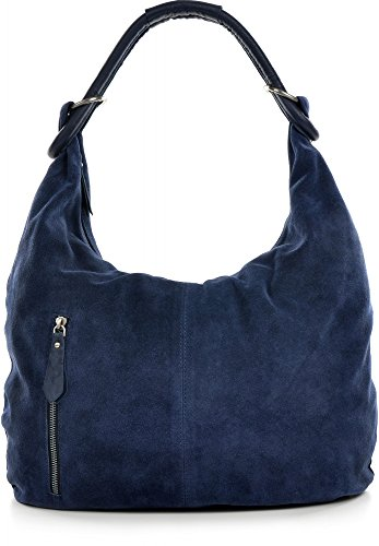 CNTMP, 숙 녀 핸드백, 호 보 가방, 어깨 가방, 가방, 가방, 가방 트렌드, 스웨이드, 스웨이드, 스웨이드, 가죽 가방, DIN A4, 44x36x4cm (W x H x D)