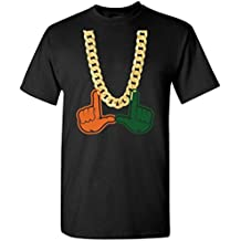 Miami Florida Turnover Chain U Hands Mens Short-Sleeve