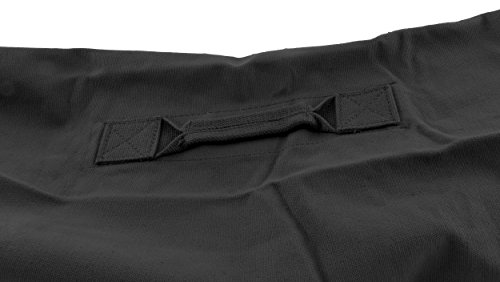 Stansport Deluxe Duffel Bag w/Zipper, Black - 50''X18''X18'' by Stansport (Image #4)