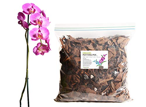 All Natural Orchid Potting Mix by Perfect Plants - 4 Quart Special Blend for Proper Root Development on All Orchid Plant Types