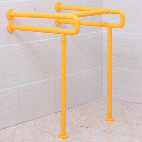 ACHKL Washbasin handrails Barrier-Free handrails The Disabled and The Aged Rails Bathroom handrail Yellow