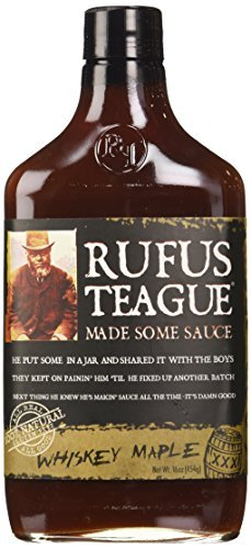 Rufus Teague Whiskey Maple Barbecue Sauce - 16oz by Rufus Te