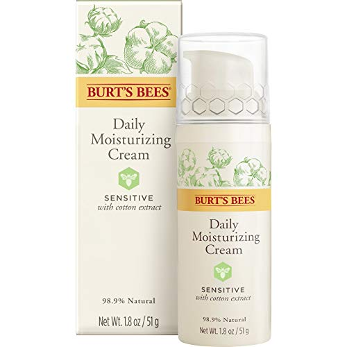 Burt's Bees Sensitive Daily Moisturizing Cream, 1.8 oz Daily Luminous Face Moisturizer