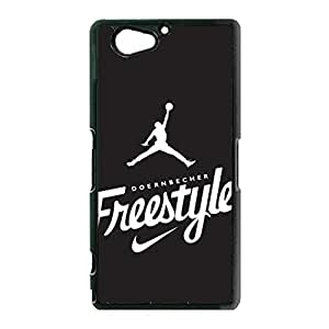 Air Jordan Cell Phone Case Classical Simple the Logo of Air Jordan PremiumCover Case for Sony Xperia Z2 Mini