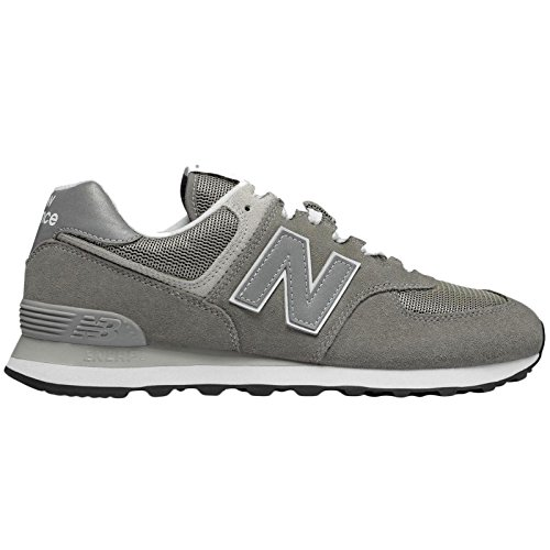 New Balance Mens 574 Sneaker,Grey, 10 D(M) US by New Balance