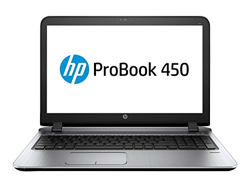 "2017 HP ProBook 450 G3 15.6"" Anti-Glare HD Business Ultrabook Laptop, Intel Dual-Core i5-6200U Processor Up to 2.8GHz, 8GB DDR4 RAM, 128GB SSD, USB 3.0, DVD, HDMI, Windows 10 Professional"