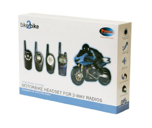 Motor Bike Helmet Speaker and Microphone System for PMR Radio (Full Face...