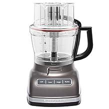 Kitchenaid 14 Cup Food Processor - Cocoa Silver