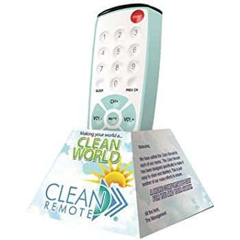 Amazon.com: 10-pack Clean Remote® CR1 Universal TV Remote required by Best Western: Home Audio