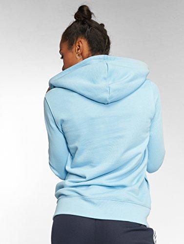 Donna Felpa Cappuccio con Clear Blue Trefoil adidas Z1wqIxzFT