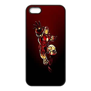 Flying Iron Man iPhone 5 5s Cell Phone Case Black DIY TOY xxy002_850098