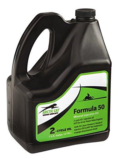 Arctic Cat Formula 50 2-Cycle Oil 1 Gallon (3.78L) (Cat Cycle 2 Oil Arctic)