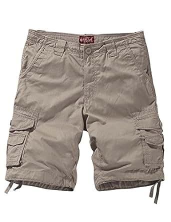 Match Men's Comfort Cargo Shorts (Label Size 2XL/36 (US 34), 3056 Apricot)