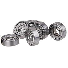 MagiDeal Pack of 10 Steel Ball Roller Bearings for Skateboard Scooter Wheels