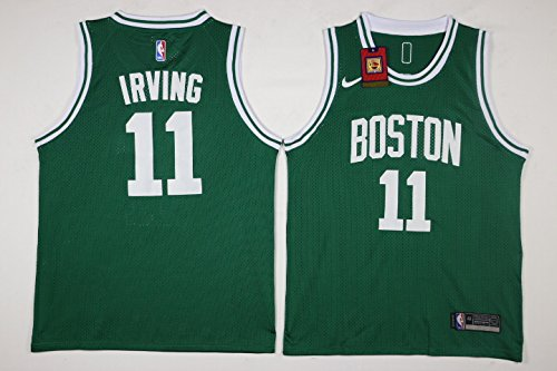 Men's Nike NBA Kyrie Irving Boston Celtics #11 Road Jersey - Green