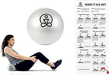 9 pulgadas Mini bola de ejercicio por el trabajo (en) – Core Bola ...