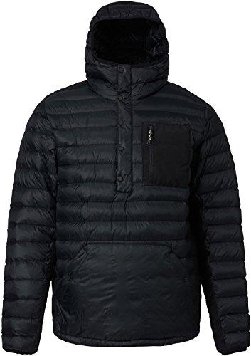 Burton Men's Evergreen Down Anorak Insulator Top, True Black, ()