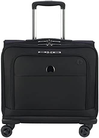 Delsey Luggage 4 Wheel Spinner Mobile Office - Exclusive Briefcase