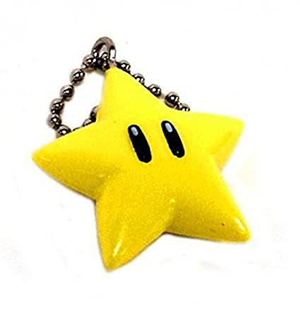 Amazon.com: Super Mario Kart DS micro Llaveros Star: Toys ...