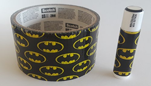 5 Batman Chap Stick Lip Balm five pack pieces BULK by In a Sticky Situation