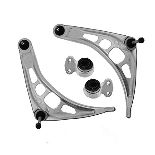 Front Lower Control Arms with Ball Joints & Bushings for BMW E46 3 Series 323 325 328 330 Z4 (Bmw 325is Ball Joint)