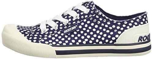 Femme navy Me Bleu Rocket Chaussons Dog Sneaker Spot Jazzin WaxW8On6I