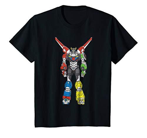 Kids Voltron Legendary Defender All 5 Combined Lions T-Shirt