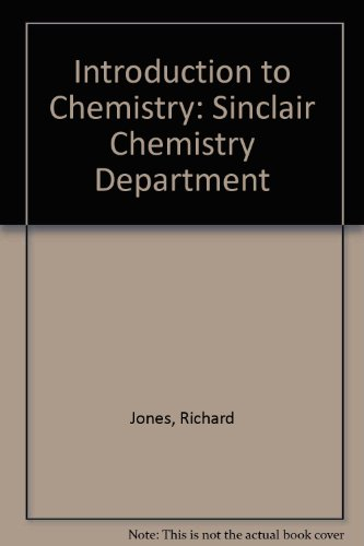 Introduction to Chemistry: Sinclair Chemistry Department
